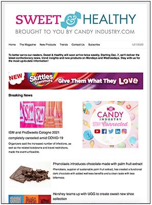 Candy eNews Sample